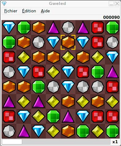 bejeweled clone gweled a free game for linux mint ubuntu